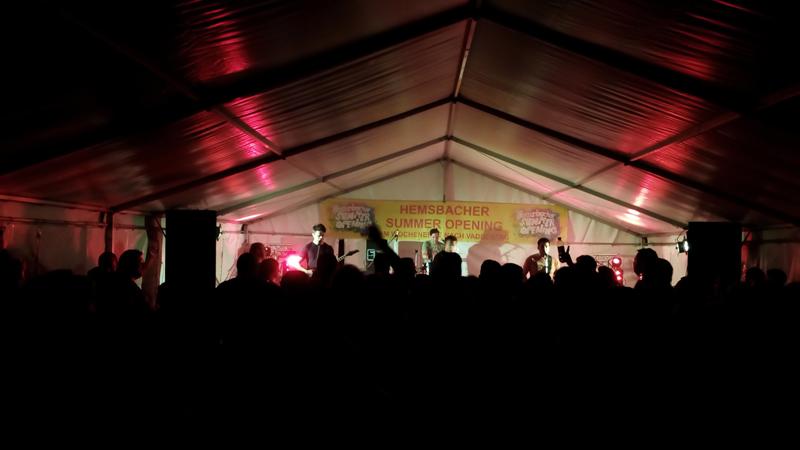 4. Hemsbacher Summer Opening - Band 1