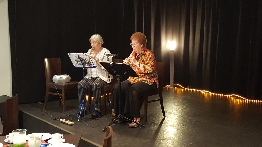 Adventskaffee - Flötenteam
