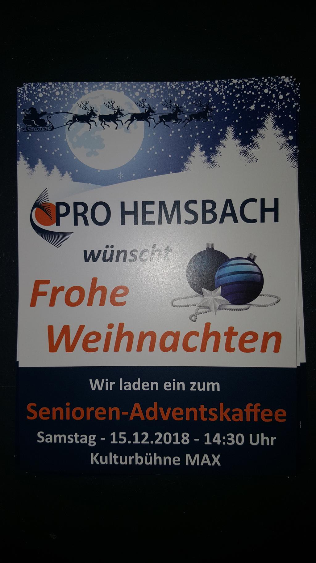 Adventskaffee - Plakat