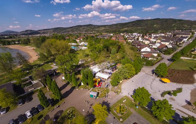 2. Hemsbacher Summer Opening - Luftaufnahme